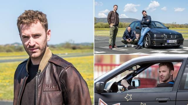 Spreman za 'Brze i žestoke'?: Glumac Momčilo Otašević je s BMW-om napravio pravi show