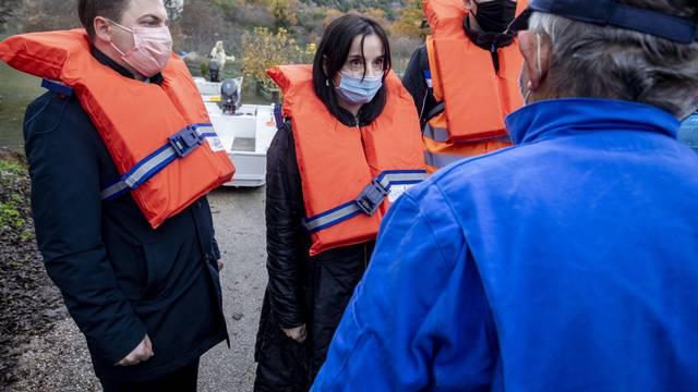Kokoriće i vrgorački kraj posjetila je ministrica poljoprivrede Marija Vučković