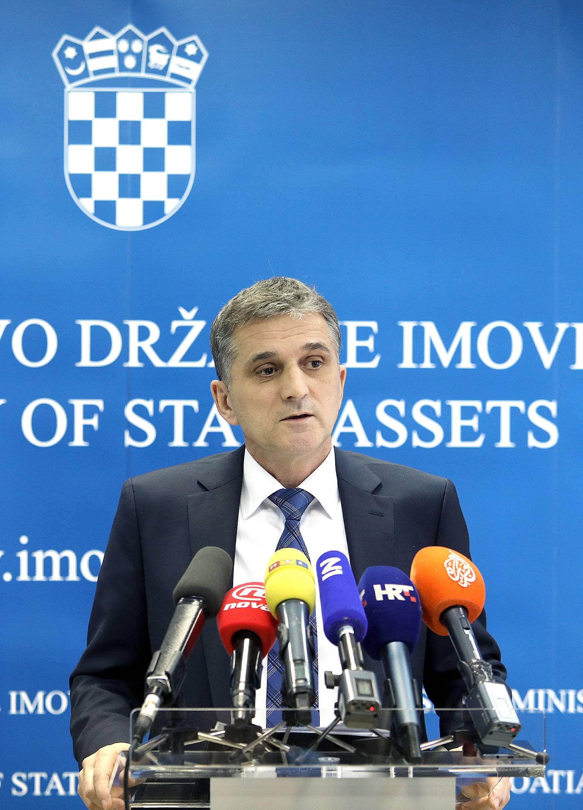 Ministarstvo državne imovine udvostručilo broj zaposlenih