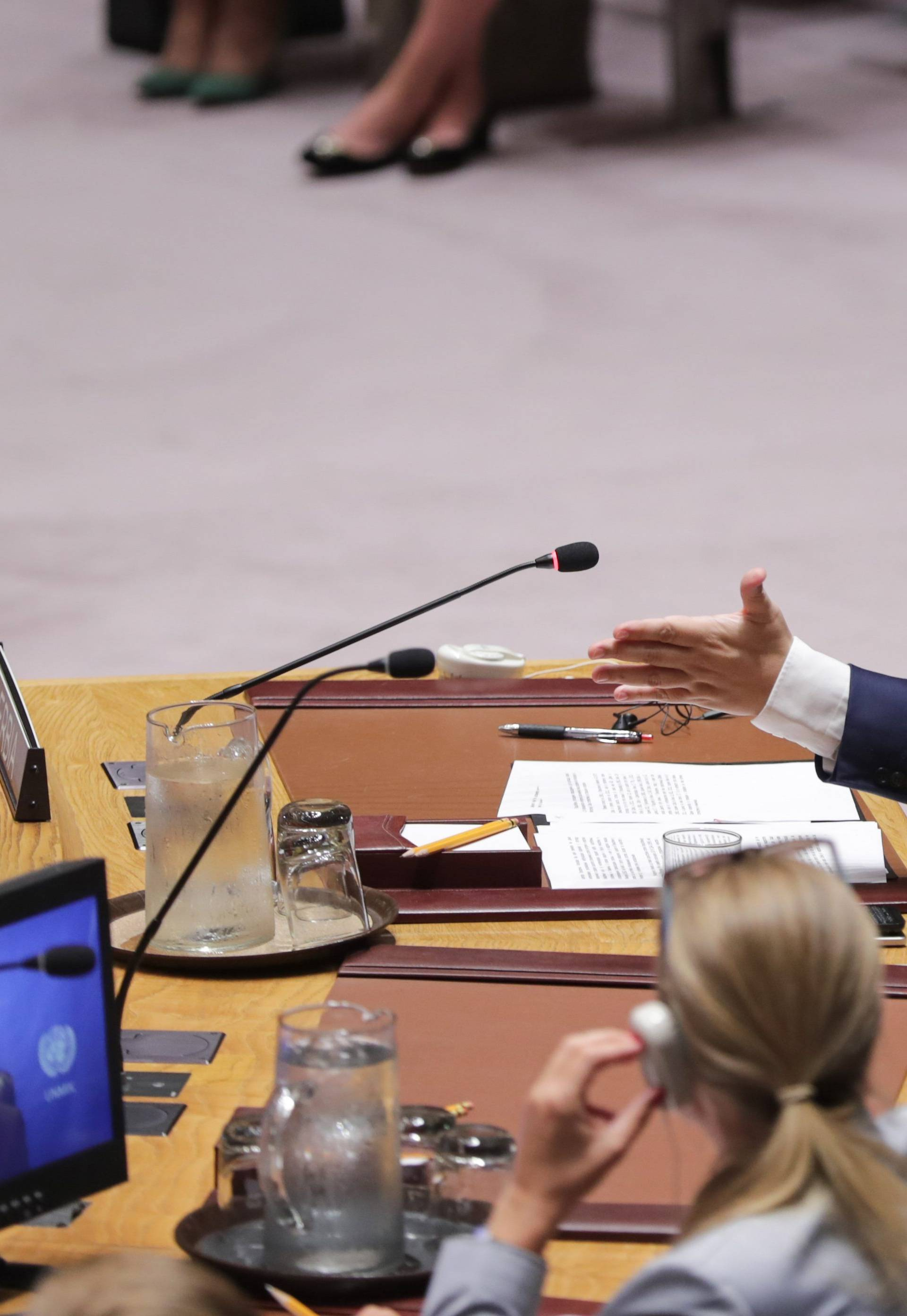 Security Council Meeting on Kosovo