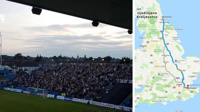 Kakva ljubav prema klubu: Više od 900 km prešli zbog tekme...