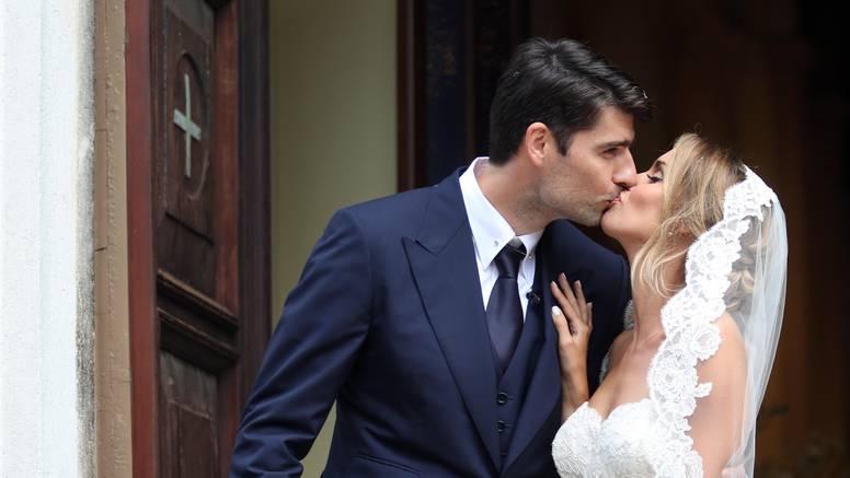 Bajkovito vjenčanje u Istri: Franka i Vedran rekli su 'da'