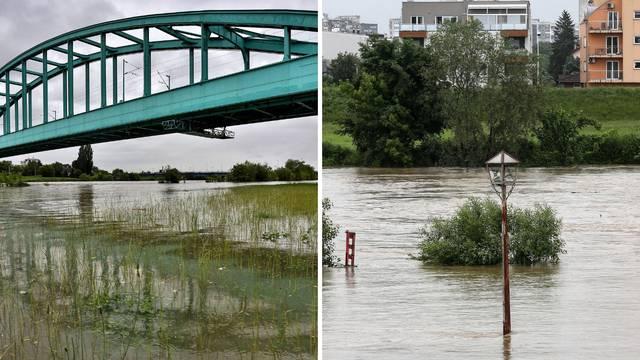 Kiša ne prestaje ni u Zagrebu: Rijeka Sava se izlila iz korita