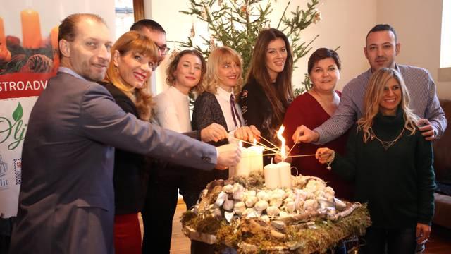 Split: Paljenje treće adventske svijeće uz specijalitete restorana Perivoj