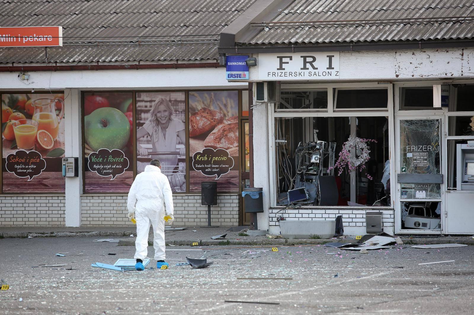 Eksplozija zatresla Staro Čiče: 'Napali' bankomat Erste banke