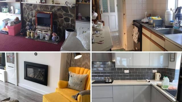 Žena kuću punu vlage pretvorila u elegantno i moderno imanje