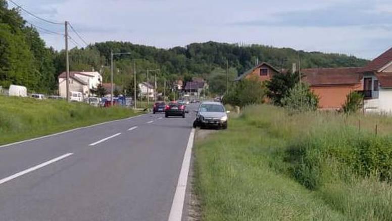 Prometna kod Svetog Ivana Zeline: Ozlijeđen motociklist