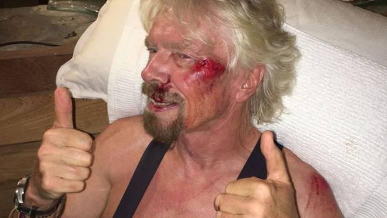 Kaciga spasa: Richard Branson pao je s bicikla i umalo poginuo