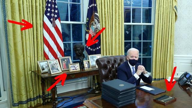 Deset detalja koje je Joe Biden promijenio u Ovalnom uredu