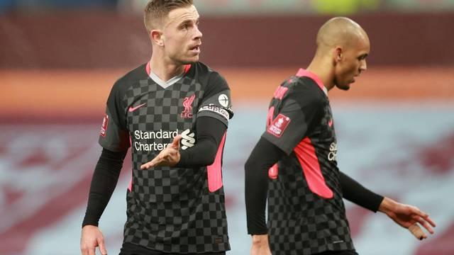 FA Cup - Third Round - Aston Villa v Liverpool