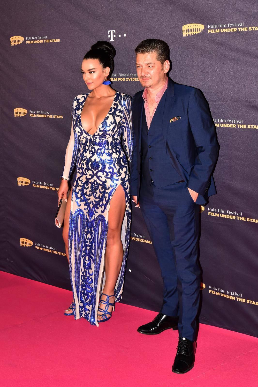 Hana Noka odjenula holivudsku haljinu: 'Sama sam ju kreirala'