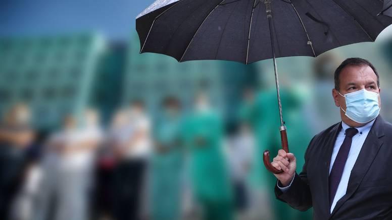 Beroš o današnjem prosvjedu tehničara i medicinskih sestara: 'Nitko vas ne sili da se cijepite'