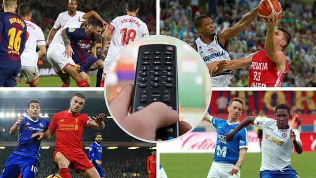 Košarkaši love SP, Liverpool  s Chelseajem, Barca na Mestalli