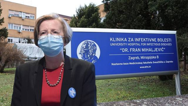 Alemka Markotić Klinika Fran Mihaljević