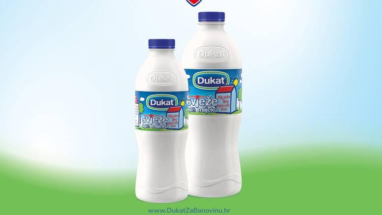 Dukat se odriče 50 lipa od svake prodane boce svježeg mlijeka za pomoć stanovnicima Banovine