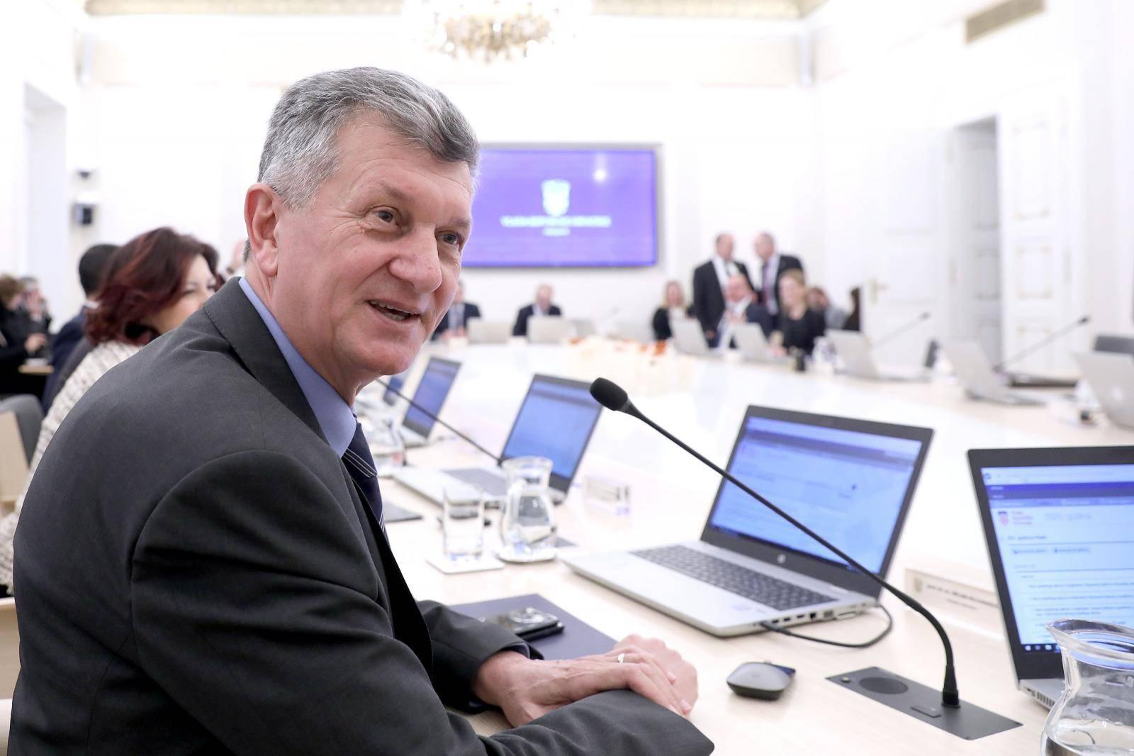 Zagreb: U Banskim dvorima održana 203. sjednica Vlade RH