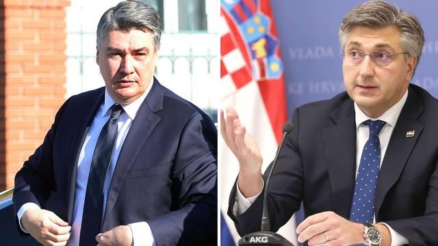 Plenković: 'Pisma nisam slao na ovu temu ni bivšoj predsjednici, neću niti sad. To je dječja igra'