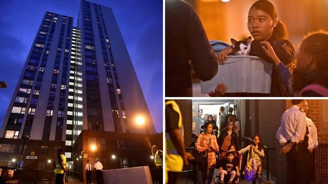 Evakuirali pet nebodera usred noći zbog opasnosti od požara