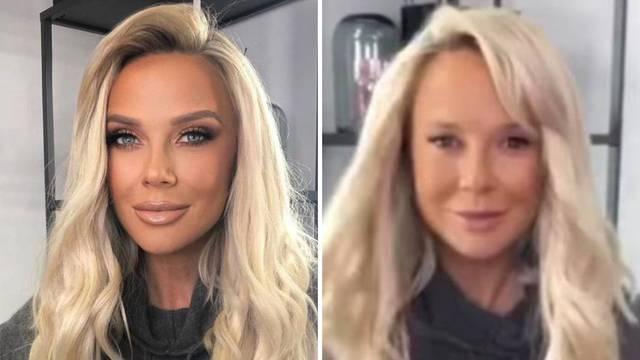 Šuput pokazala lice bez šminke