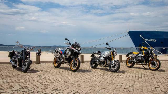 Adrenalinski spektakl u Zadru: održan prvi BMW Motorrad Roadshow