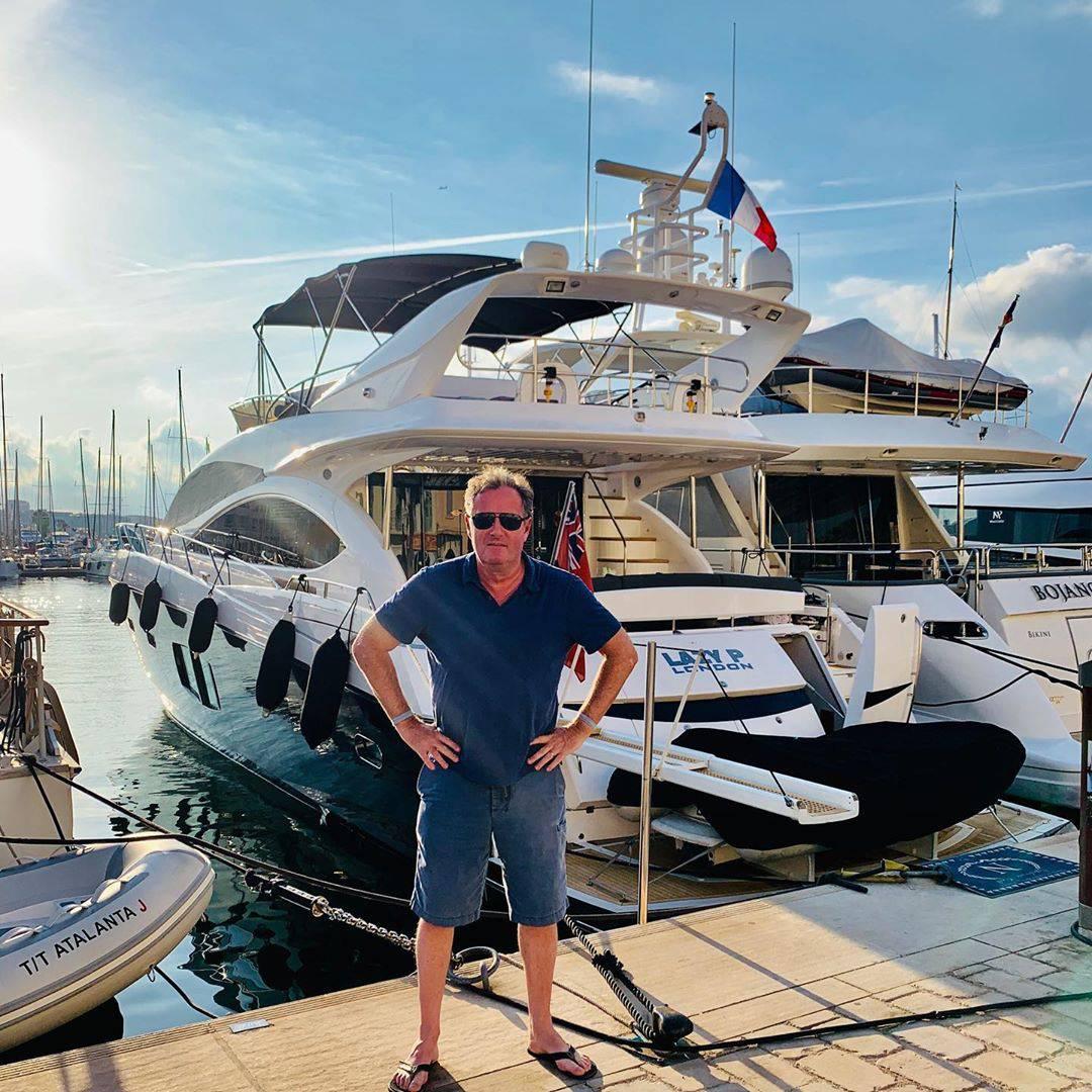 Piers 'popljuvao' Meghan zbog leta, a unajmio luksuznu jahtu
