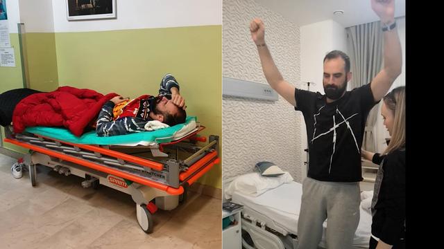 Šarić objavio snimke iz sale: Ovo su liječnici izvadili iz mene