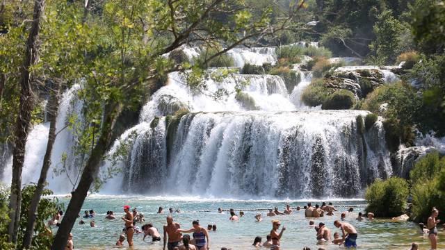 Ljepote Nacionalnog parka Krka i tijekom turističke sezone zaista očaravaju
