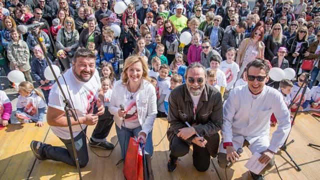 Filip Šovagović i Goran Navojec podržali Dan zdravog osmijeha