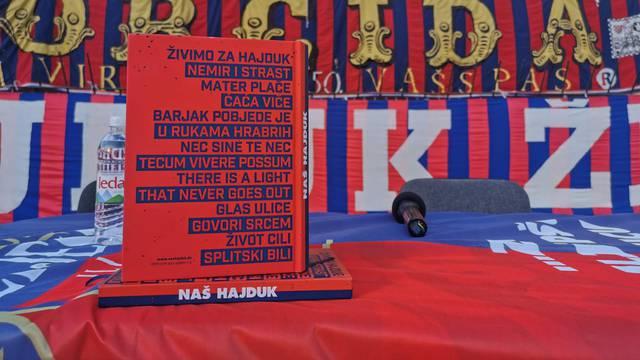 """Knjiga """"Naš Hajduk - borba navijača za klub"""" podsjetnik je na događaje u zadnjih 15 godina"""