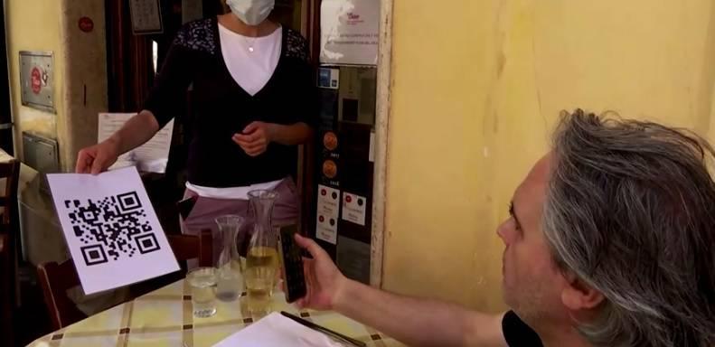Nema više papirnatih menija u talijanskom restoranu već QR