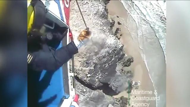 Dramatično spašavanje: Vjetar je paraglajdera bacio na stijene
