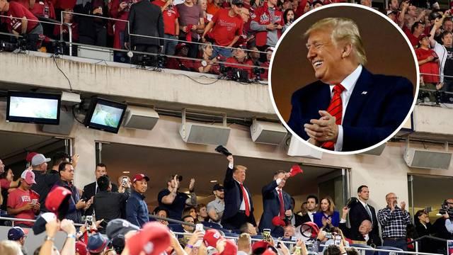 Donalda Trumpa izvrijeđali u finalu bejzbola: Zatvorite ga!