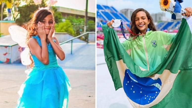 Jedna od najmlađih vlasnica olimpijske medalje osvojila je internet u vilinskom kostimu