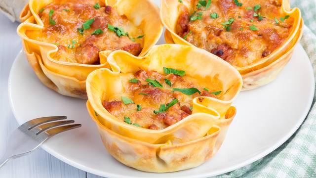 Lazanje, pite ili pizze mogu se peći i u kalupima za muffine