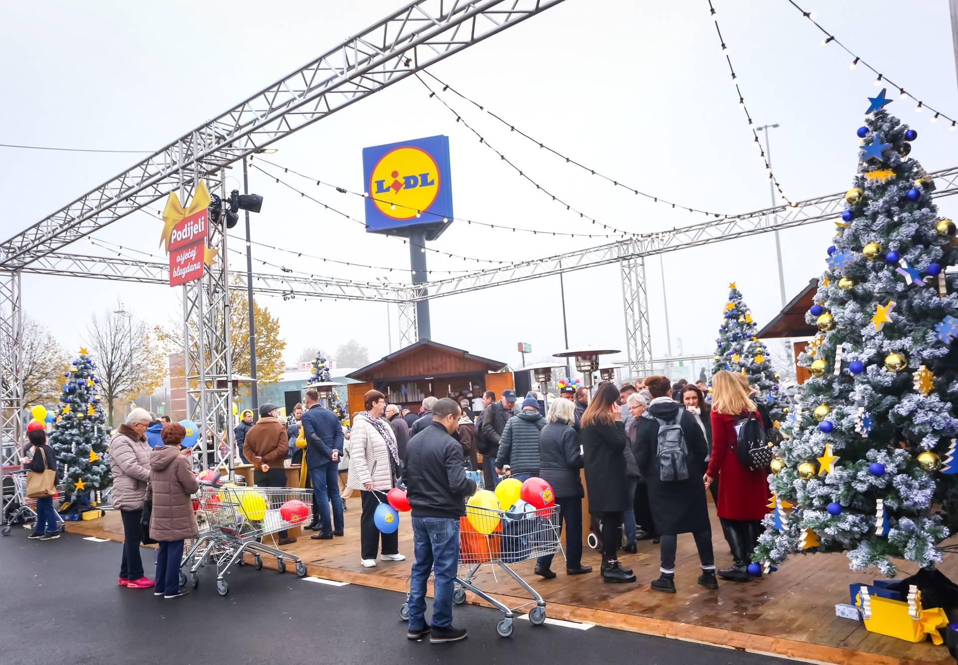 Lidl otvorio stotu trgovinu u Hrvatskoj!