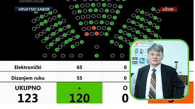 Nakon višemjesečne trakavice konačno izglasan Dobronić za predsjednika Vrhovnog suda