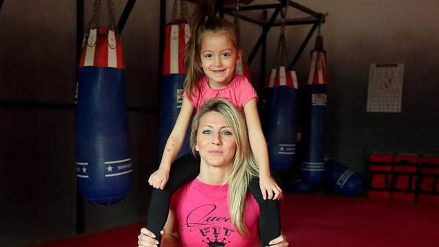 'Vježbala sam u trudnoći, kćer Vitu koristim umjesto utega...'
