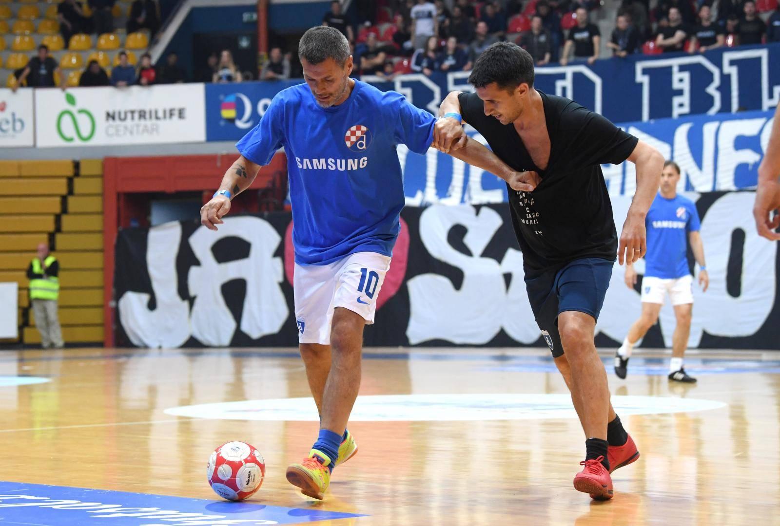 Dinamove legende i ikone HNL-a održale nogometni spektakl u Ciboni