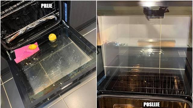 S polovicom limuna očistite pećnicu: Blistat će se kao nova!