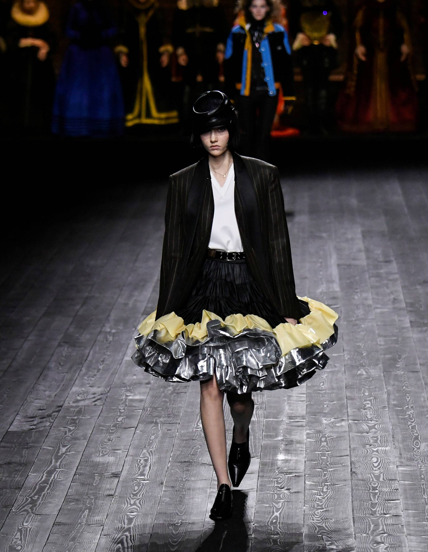 Louis Vuitton collection show at Paris Fashion Week