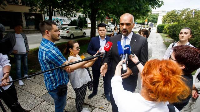 Split: Konferencija za medije Stranke s imenom i prezimenom
