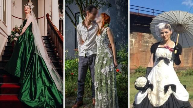 Mladenke koje su uštedjele na vjenčanicama: Sašile su ih same