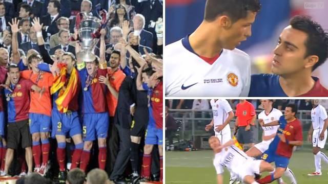 Iniesta odveo Barcelonu u Rim, a tamo Messi zabio - glavom...