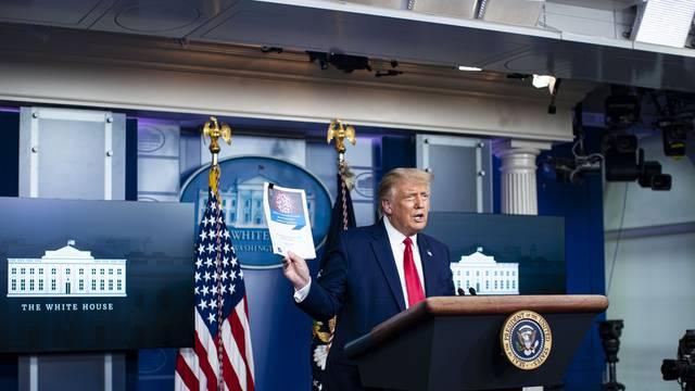 President Trump Coronavirus Press Conference