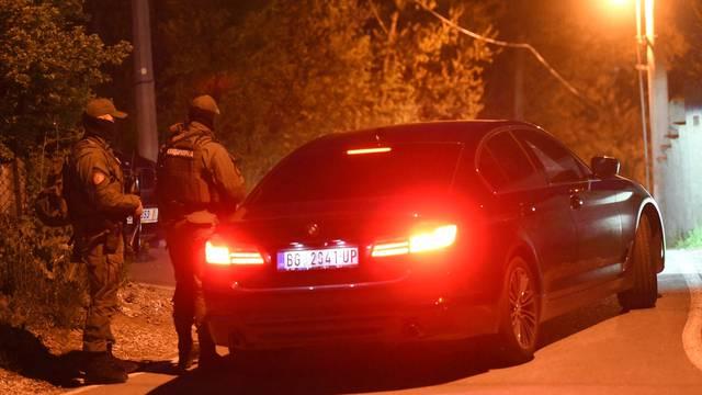 Beograd: Policijski pretres vikendice Veljka Belivuka, poznatijeg kao Velja Nevolja