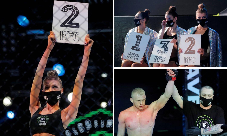 Gledaj nas, Dana: Bjelorusi u kavezu, djevojke nosile maske