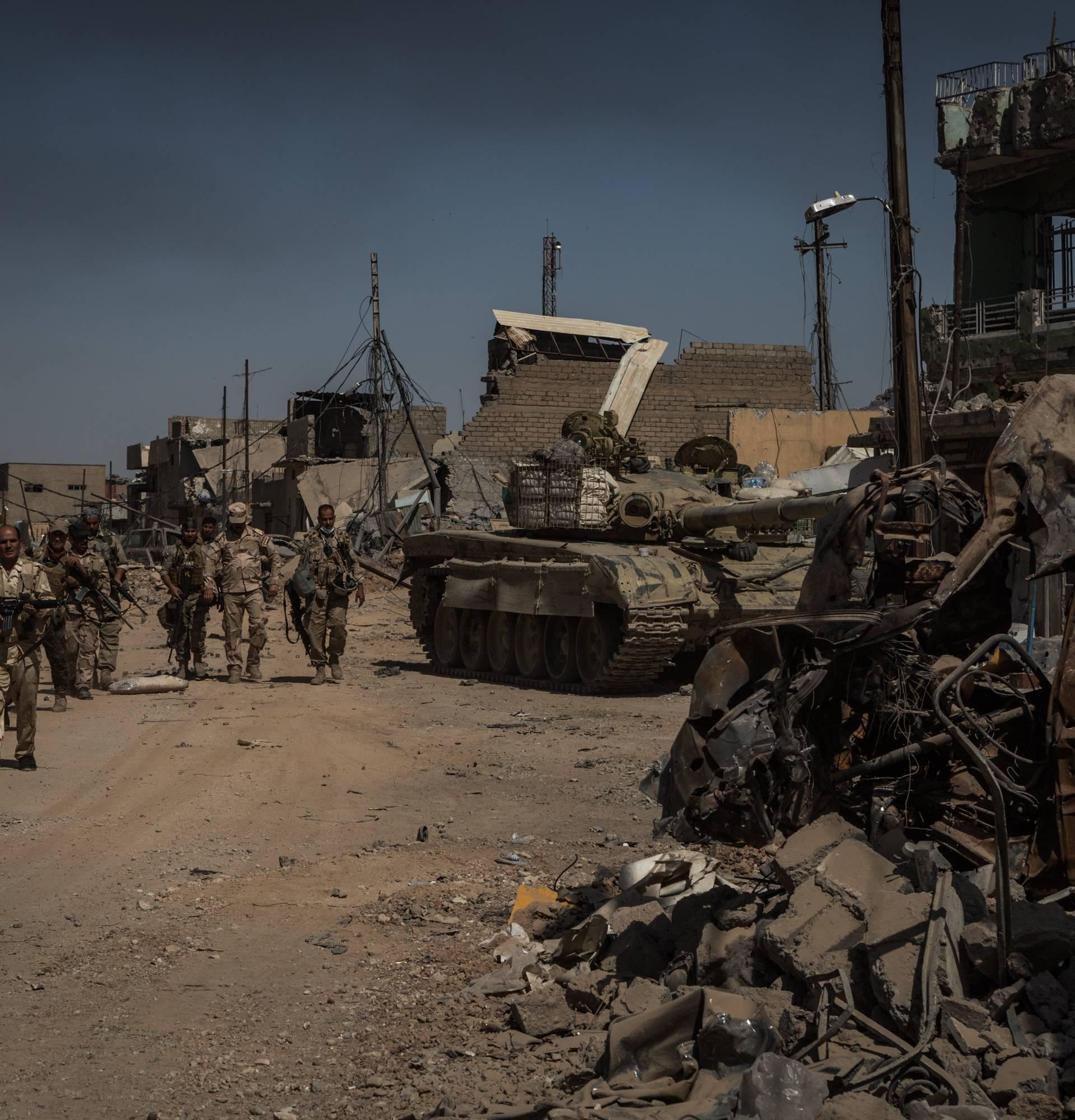 Heavy fighting in Mosul