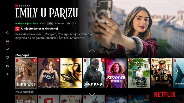 Netflix od sada i na hrvatskom