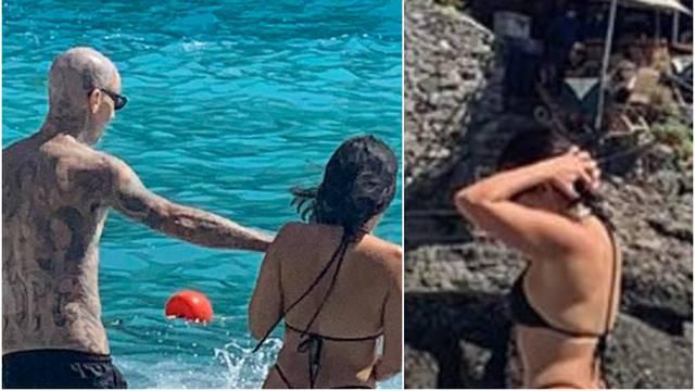 Kardashianka je u minijaturnim tangicama ljubila dečka na plaži