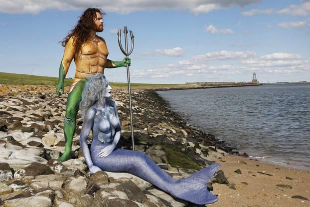 Aquaman and Mermaid / Aquaman and Mermaid